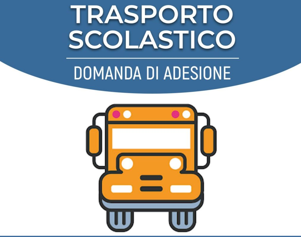 Servizio trasporto scolastico - Modalità presentazione domande