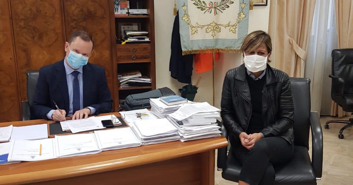Il Sindaco comunica la nomina del nuovo assessore al Sociale e all'Istruzione Donatella Di Cesare