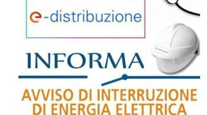 AVVISO DI INTERRUZIONE DI ENERGIA ELETTRICA - 3 E 4 MARZO 2021