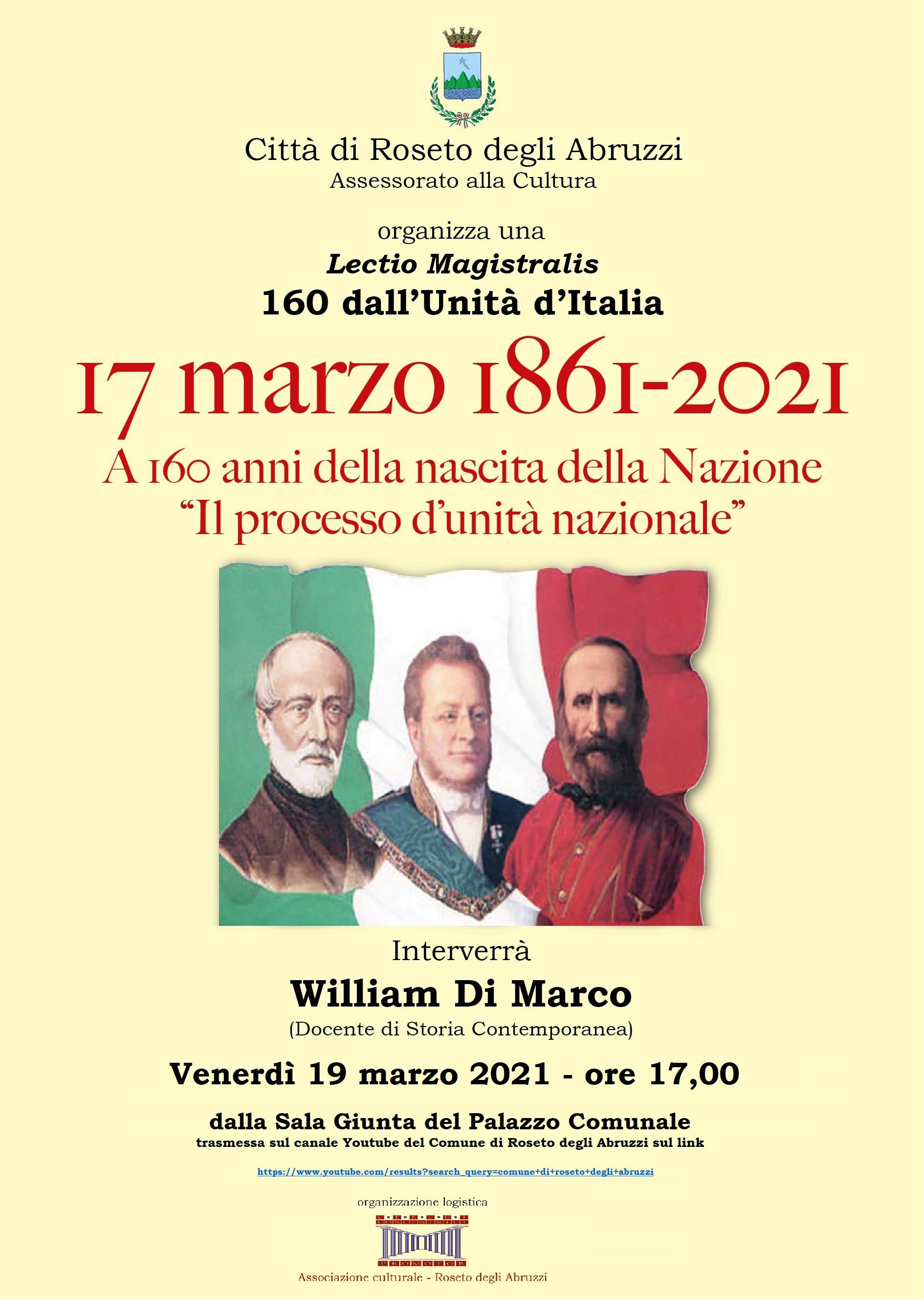 17 MARZO 1861-17 MARZO 2021