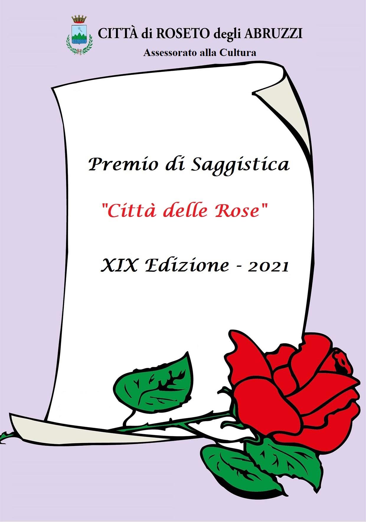 XIX EDIZIONE PREMIO DI SAGGISTICA