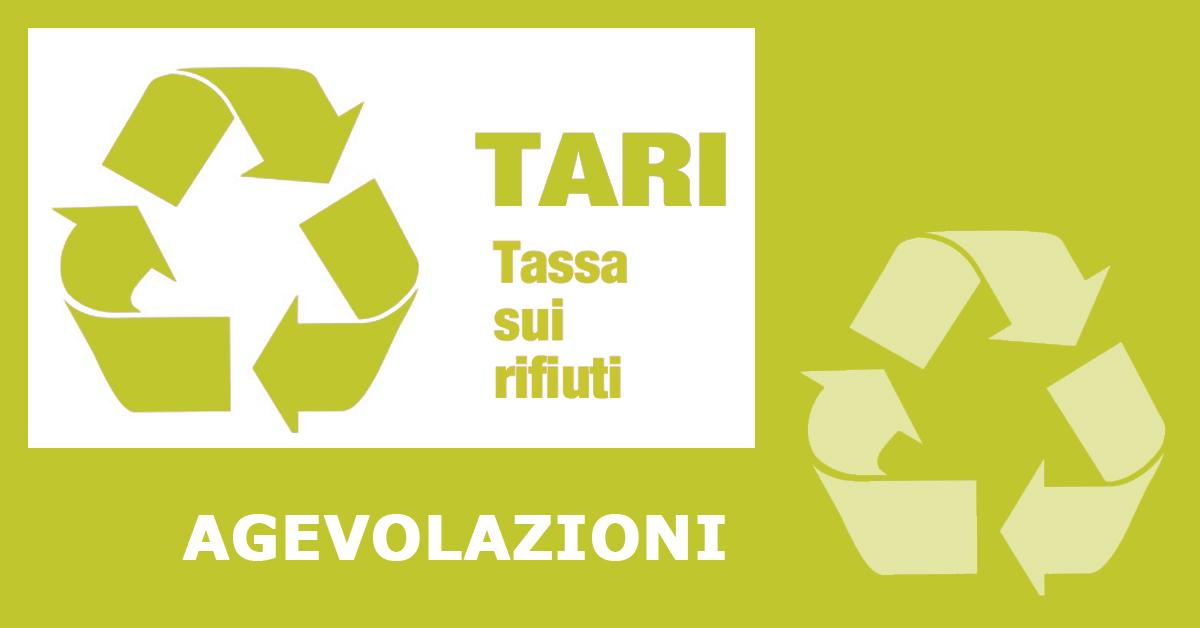 TARI - Agevolazioni/Riduzioni delibera Arera 158/2020