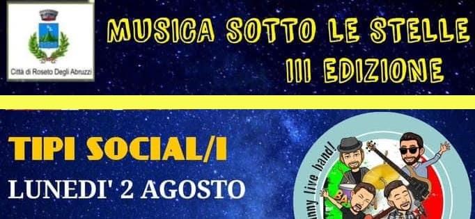 Musica sotto le stelle 3^ edizione - Tipi Social/i